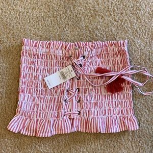 AE tube top new with tags XS